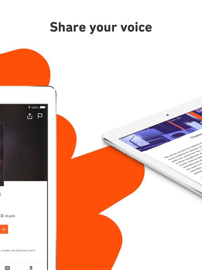 Wattpad Screenshot
