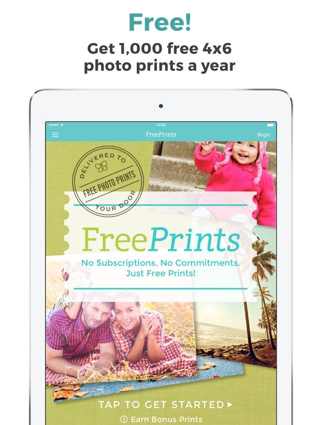 freeprints photos delivered on