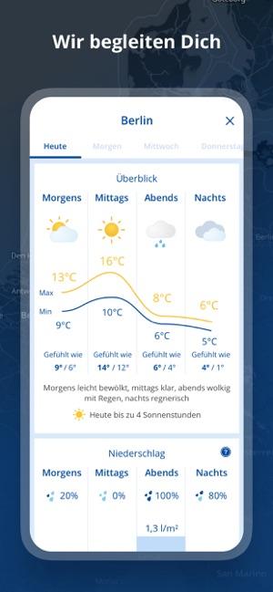 wetter.com Screenshot