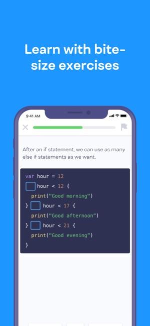Mimo: Learn to Code Screenshot