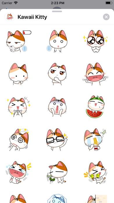 Kawaii Kitty Sticker Pack