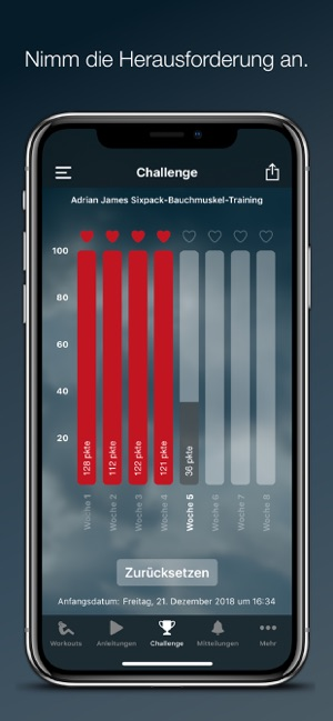 Adrian James: 6 Pack Abs (DE) Screenshot