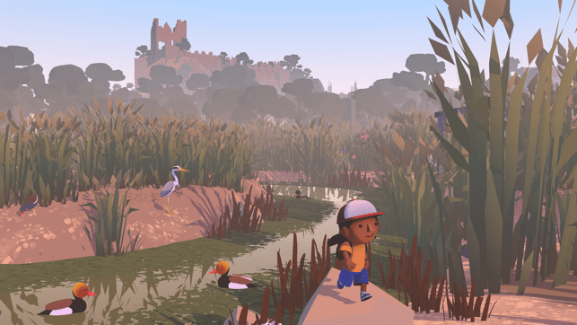 ‎Alba: A Wildlife Adventure Screenshot