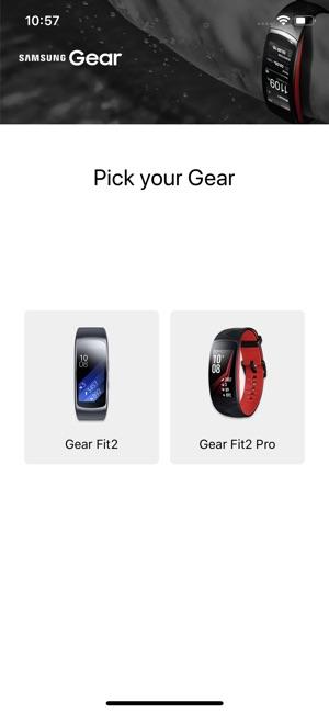 Samsung Gear Fit Screenshot