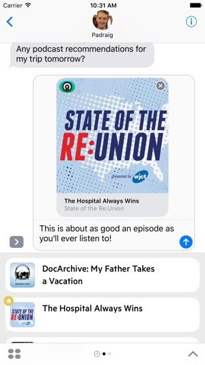 Castro Podcasts Screenshot