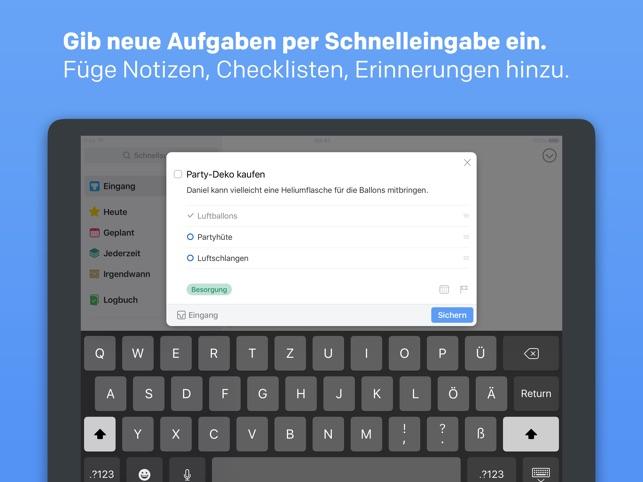 Things 3 for iPad Screenshot