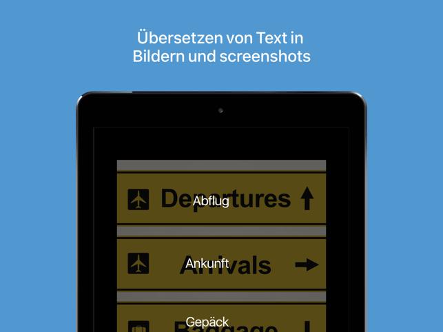 Microsoft Übersetzer Screenshot