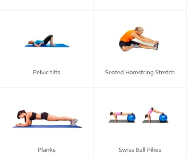 Lower Back Pain Exercises Screenshot