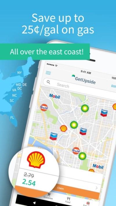 GetUpside: Earn Easy Cash Back by Upside Services Inc