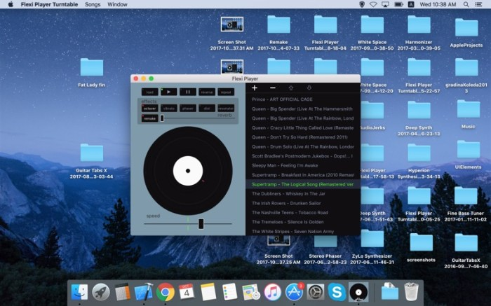 Flexi Player Turntable Screenshot 01 ikzebqn