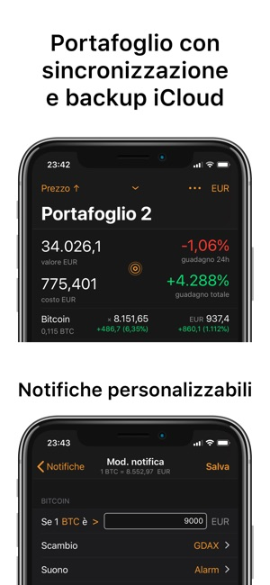 Crypto Pro Segnalatore Bitcoin Screenshot