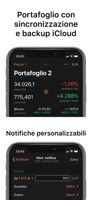 Crypto Pro Segnalatore Bitcoin Screenshot