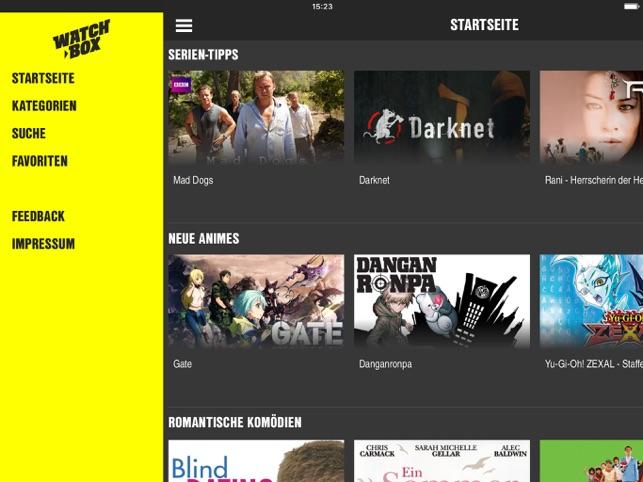 WATCHBOX Screenshot