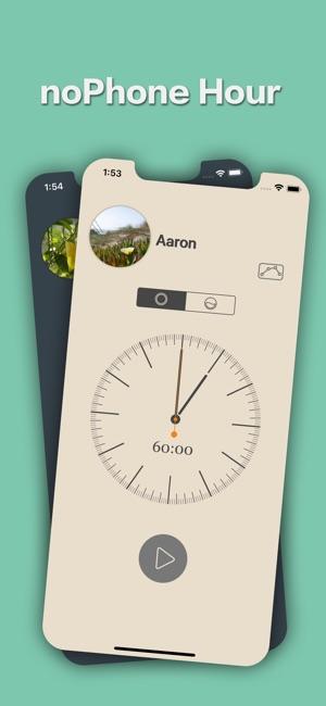 noPhone Hour Screenshot