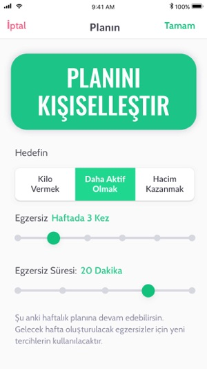 30 Günlük Evde Fitness Program Screenshot