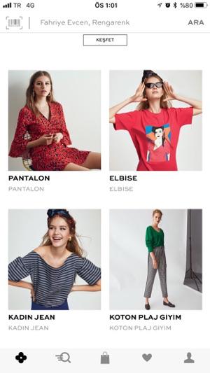 Koton:Giyim Alışveriş Sitesi Screenshot