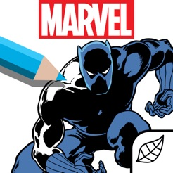 Marvel: Color Your Own
