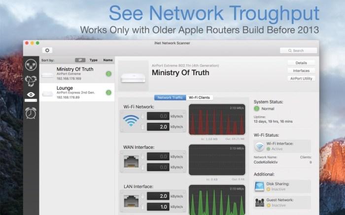 iNet Network Scanner Screenshot 05 v0n80yn