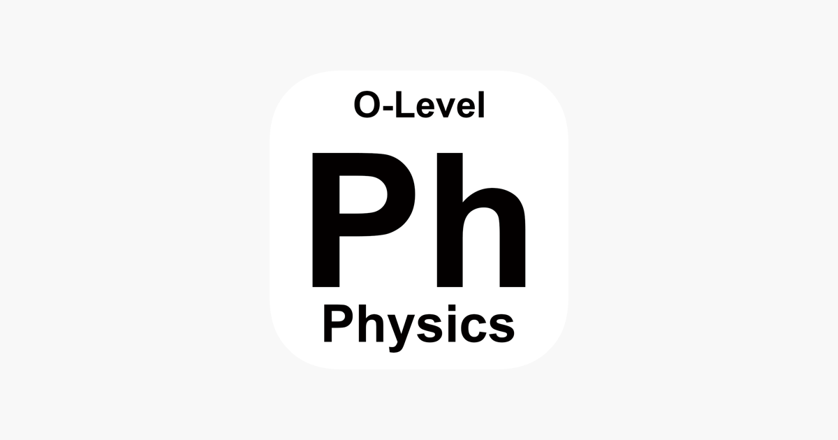 GCE O Level Physics on the App Store