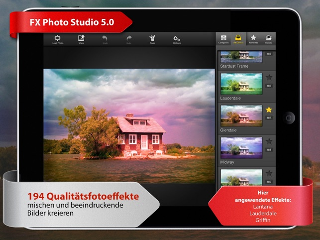FX Photo Studio HD Screenshot