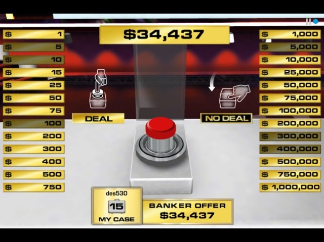 Deal or No Deal Screenshot