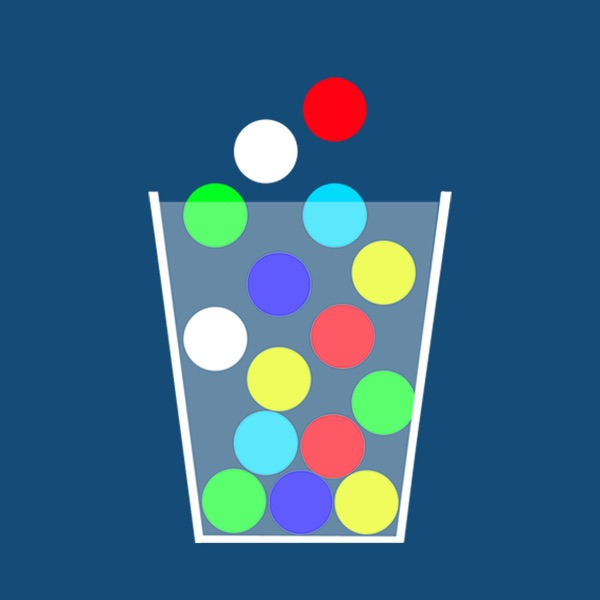 100 Ping Pong Balls - 3 Mini Physics Games Of Catching Balls in a Cup - Classic, Reverse and Mixed