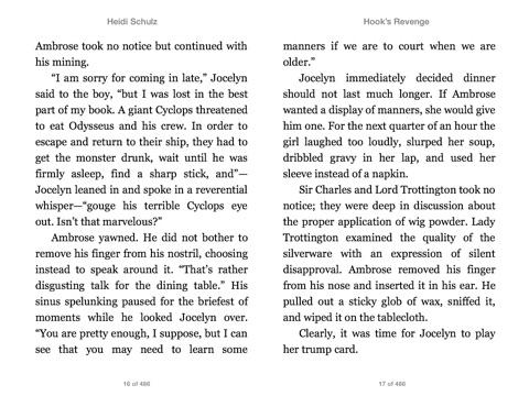 Hook's Revenge Book 1 Hook's Revenge By Heidi Schulz & John