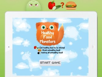 Healthy Food Monsters Fun new game for children to learn about nutrition snacks meals and diet on the App Store