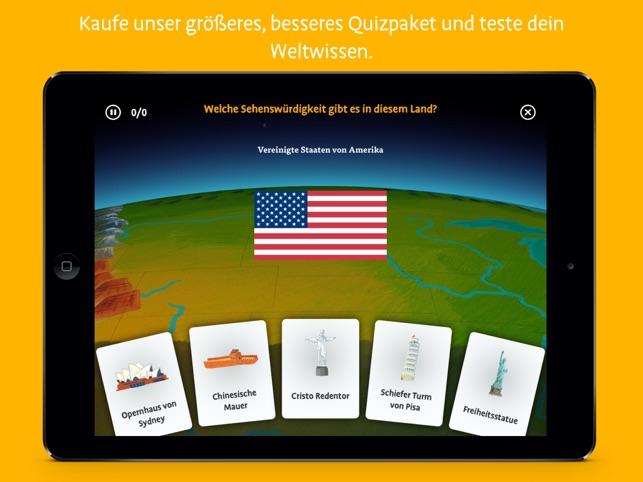 Barefoot Weltatlas Screenshot