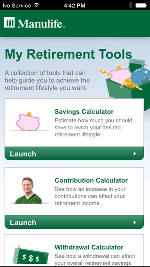 My Retirement Tools on the App Store