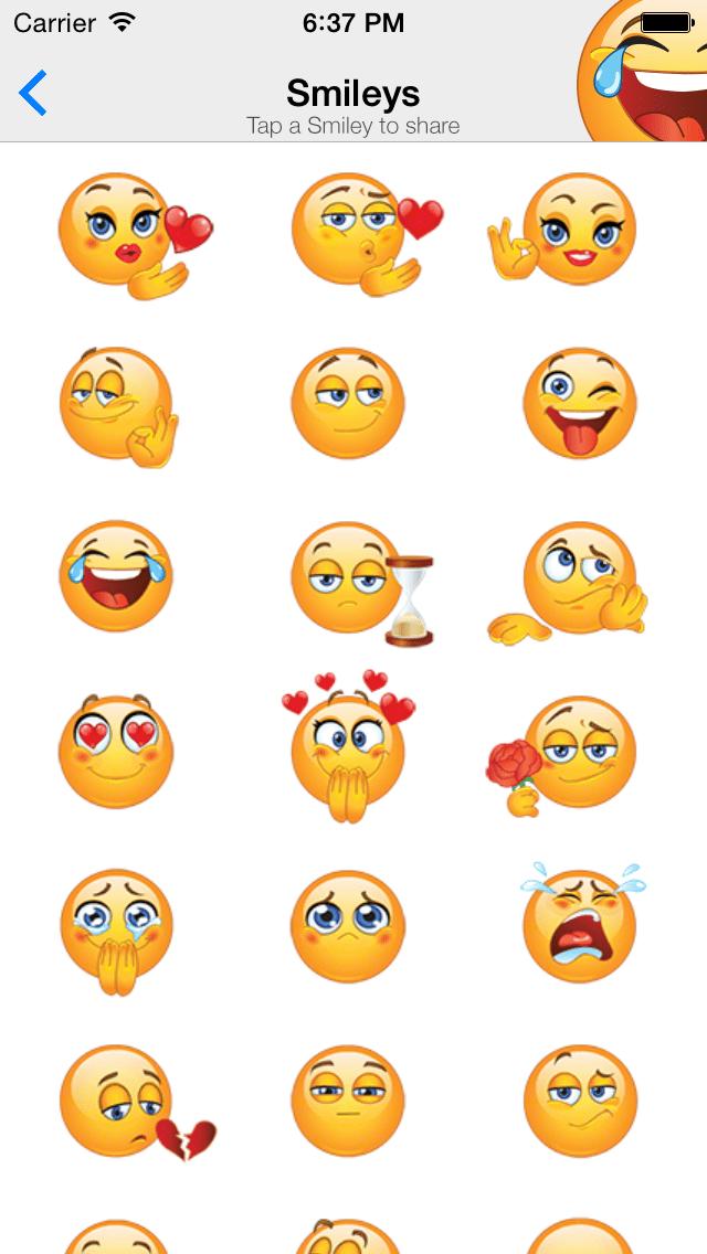 chatstickerz funny emoji stickers