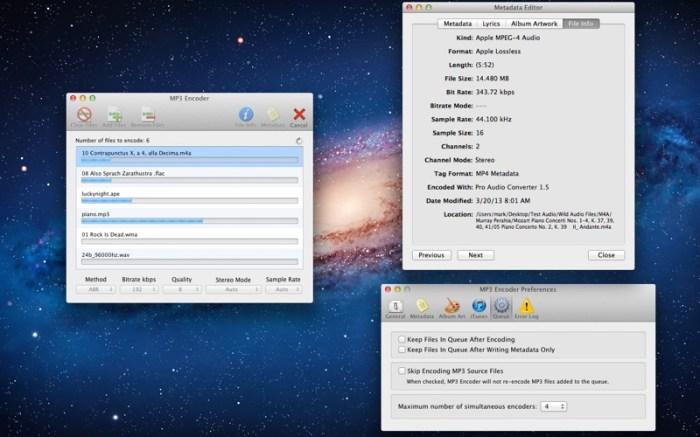 MP3 Encoder Screenshot 03 ikzeftn