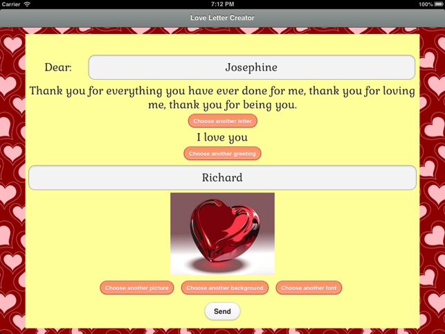 Love Letter eCards on the App Store
