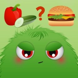 Healthy Food Monsters Fun new game for children to learn about nutrition snacks meals and diet by Escaleto UG haftungsbeschraenkt