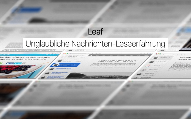 Leaf - RSS News Reader Screenshot