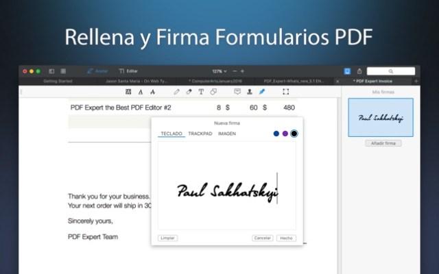 PDF Expert - Edita PDFs Screenshot