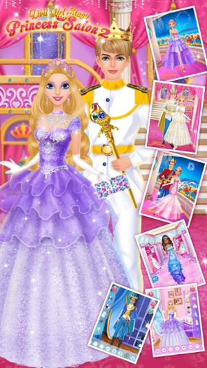 Princess Salon 2 - Makeup, Dressup, Spa and Makeover - Girls Beauty Salon Games Screenshot