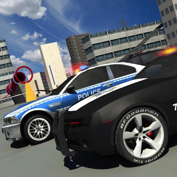 Police 3d Car Driving Simulator games