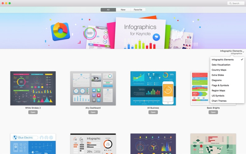 Infographics Lab for Keynote Mac 3.3.4 激活版 – Keynote图表模板-麦氪派(WaitsUn.com | 爱情守望者)