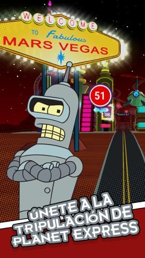Futurama: Game of Drones Screenshot