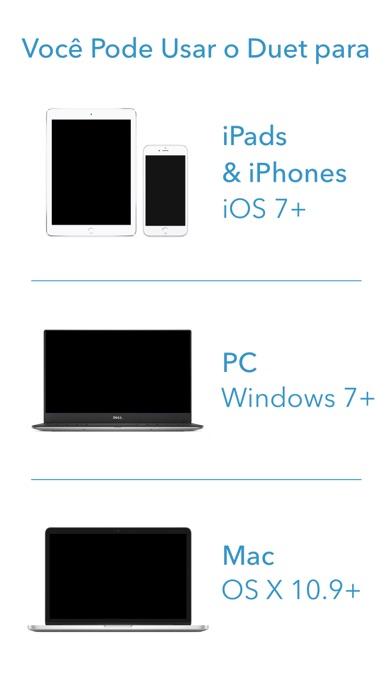 Screenshot do app Duet Display