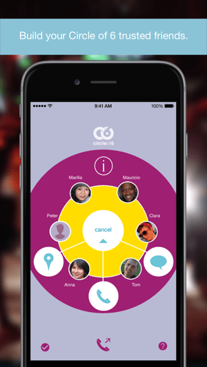 Circle of 6 Screenshot