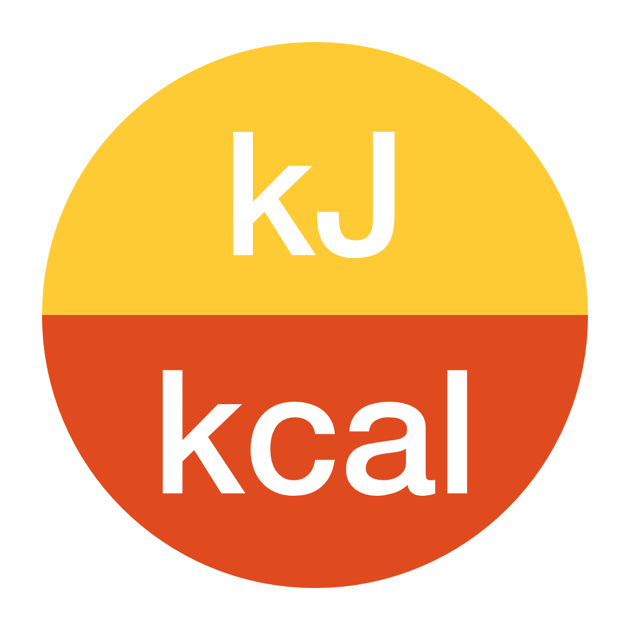 kJoule To kcal the fastest energy converter on the App Store