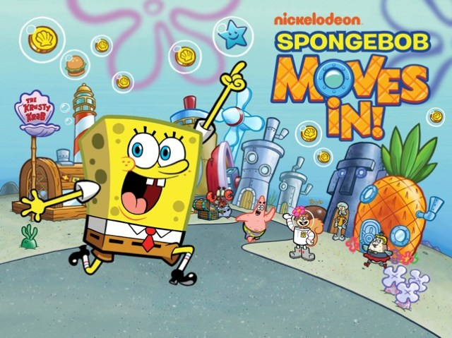 SpongeBob Moves In Screenshot