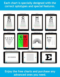 Ipad screenshots also eye chart pro test vision and visual acuity better with snellen rh itunesle