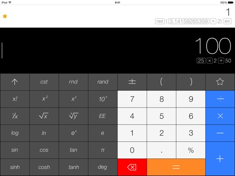 Calcbot — The Intelligent Calculator and Unit Converter Screenshot