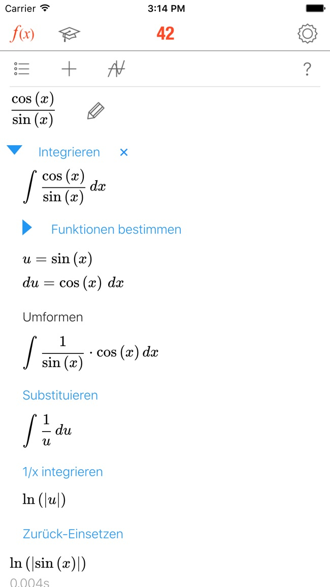 Math 42 Screenshot