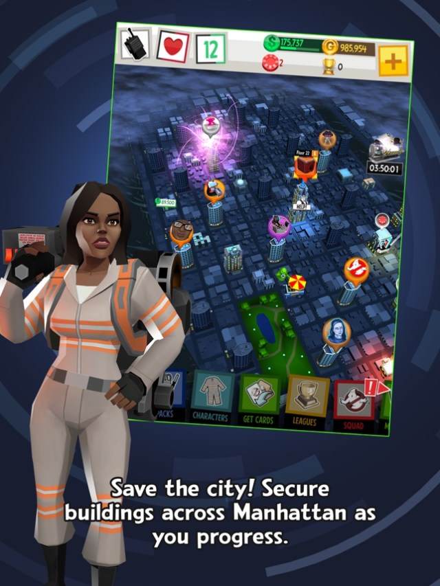 Ghostbusters™: Slime City Screenshot