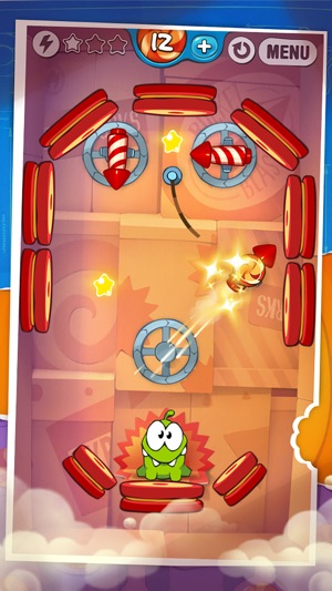 Cut the Rope: Experiments ™ Screenshot