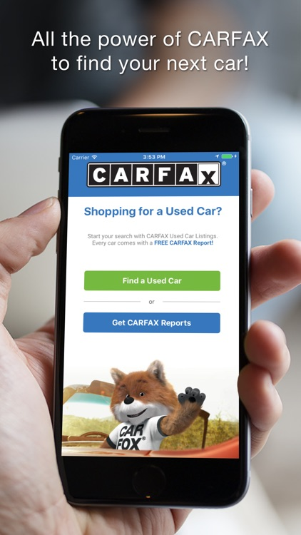 Carfax Find Used Cars For Sale By Carfax, Inc